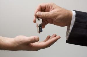 Picking up the keys